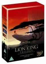 The Lion King Trilogy DVD (2004) Roger Allers cert U 5 discs Fast and FREE P & P