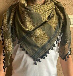 1 Hirbawi 2020 ORIGINAL Palestine Arab scarf cotton Keffiyeh Hatta Shemagh . New