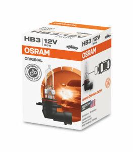 Osram HB3 / 9005 12V 60W P20d Globe Halogen Headlight Bulb
