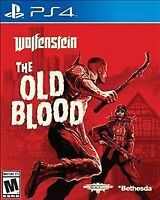 Wolfenstein The Old Blood (Sony PlayStation 4 2015) NEW MATURE FAST SHIPPING PS4