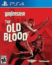 WOLFENSTEIN: THE OLD BLOOD PS4 SHOO NEW VIDEO GAME