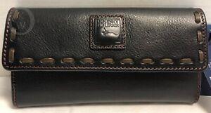 NWT*Dooney & Bourke*Black*Florentine Wallet* 20003F S167B