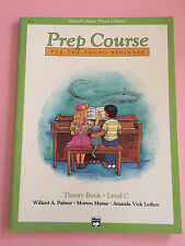 Prep Course For The Young Beginner, Alfred's Basic Piano Library, Theory Book