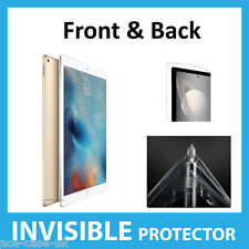 """Apple iPad Pro 12.9"""" INVISIBLE Screen Protector Shield Full Skin FRONT AND BACK"""