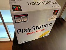 BOX CONSOLE PLAYSTATION 1 + PAD, PAL EUROPEO + 1 MEMORY CARD