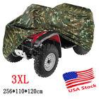 Camo 3XL Waterproof ATV Quad Bike Cover For Honda Rancher 350 400 420 2x4 4x4 ES