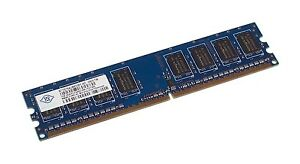 NANYA 1GB DDR2 PC2-6400 800MHz Desktop Memory (free post from Sydney