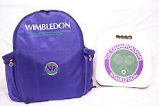 Genuine 1996 Wimbledon Championships Backpack & Seat Cushion Tennis Memorabilia