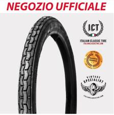 2 1/4 x 20 pneumatici tyre gomme moto GUZZI Cardellino ORIGINALI ICT Omologati