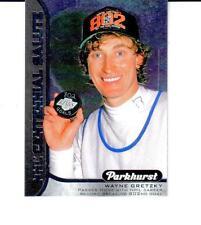 2016-17 Parkhurst NHL Centennial Salute # S-11 Wayne Gretzky Hall of Famer