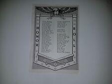 Bill Posedel Vic Raschi Pee Wee Reese Pete Reiser 1943 SNews Military Honor Roll