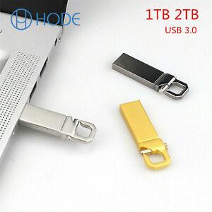 Metal USB 3.0 1TB 2TB Flash Drive Memory Stick Pen U Disk Key PC Laptop UK