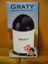 NEW GRATY Gourmet Cheese Grater AS SEEN ON TV