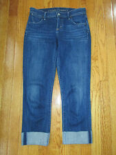 Citizens of Humanity Size 26 Dani Denim Cropped Straight Leg Capri Jeans