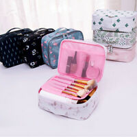 Portable Travel Waterproof Flower Flamingo Cosmetic Bag Wash Pouch Handbag NICE