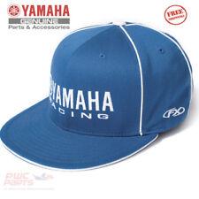 YAMAHA Racing Flex-Fit Hat Cap Factory Effex™ Blue SM MD MX ATV 894f3d5b9adc
