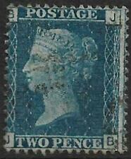 1869 2d Blue Letters BJ Plate 15? Used