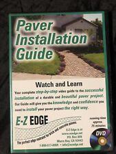 Paver Installation Guide (2004 DVD)