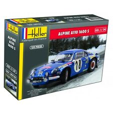 Nueva escala de Heller 80745 1:24th Renault Alpine A110 1600S rally coche