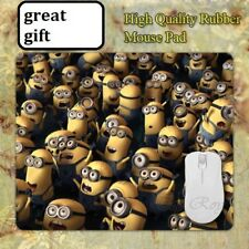 MINIONS ! Group ooh !! Disney Anti slip COMPUTER MOUSE PAD 9 X 7inch