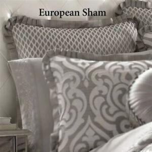 J Queen New York European Sham Euro Luxembourg Silver New
