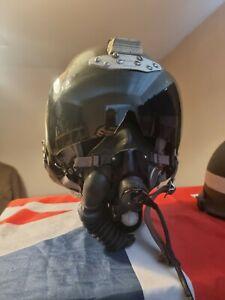 RAF 1950s Bone Dome pilot/flight Helmet, Mask And Cloth Cap