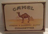 Vintage CAMEL CIGARETTES Flat 50 Cigarette Box Not Tin
