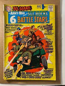 Our Army At War #190 Joe Kubert Sgt. Rock DC Silver Age War! I combine Shipping!