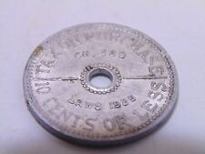 State of Washington Tax Commission Sales Tax Token 1935