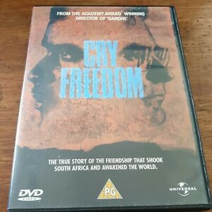 Cry Freedom DVD R2+4 Like New! – FREE POST