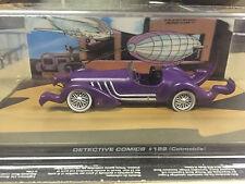 """DIE CAST BATMAN COLLECTION """" DETECTIVE COMICS # 122 CATMOBILE """"  SCALA 1/43"""