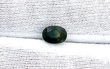 1.09 Carat Oval Natural Bicolor Green Blue Gem Stone Gemstone T1MA59
