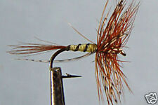 1 x Mouche de peche Sèche Panama H12/14/16 truite dry fly fyshing mosca