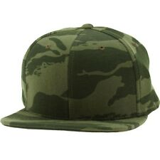 $24 Undefeated Combat Fleece Snapback Ballcap olive
