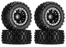 Pro-Line 10131-13 Badlands MX43 Pro-Loc Mounted Tires / Wheels (4) X-Maxx XMAXX