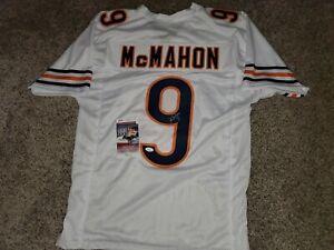 Jim McMahon autographed Pro Style Bears white jersey-JSA COA