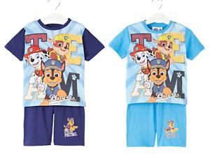 Pat patrouille vêtement d'été garçon t-shirt et short  du 2 au 6 ans neuf