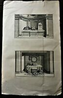 Montfaucon. Altares votivos romanos. Paris 1730