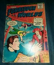 Forbidden Worlds #77 Gd+ golden age scifi horror comics acg lot movie collection