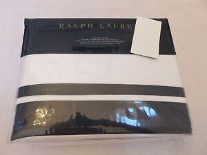 Ralph Lauren Bowery Polo Navy King Duvet Cover New $470