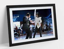PULP FICTION DANCE -FRAMED STREET ART POSTER PICTURE PRINT- BLACK WHITE
