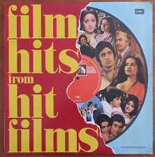 Bollywood Soundtrack FILIM HITS FROM HIT FILMS OST RARE INDIA LP