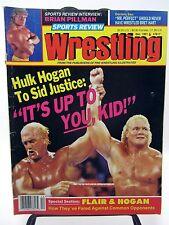 Sports Review Wrestling 1991 Brian Pillman Mr Prefect Hulk Hogan The Enforcers