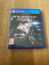 Metal Gear Solid V: Ground ceros (Sony PlayStation 4, 2014)