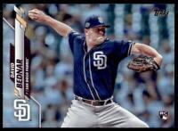 2020 Topps Series 2 Base Rainbow Foil #531 David Bednar - San Diego Padres