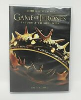 Game of Thrones: The Complete Second Season (DVD, 2017, 5-Disc Set, Used, HBO)