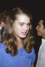 Brooke Shields Young Candid Photo original 35mm Ektachrome Transparency Slide