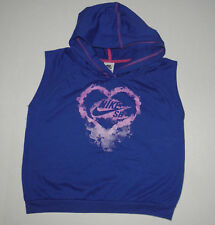 NIKE SB SKATEBOARD HOODED MUSCLE SHIRT GIRLS BOYS COTTON  X-LARGE 13 14 15