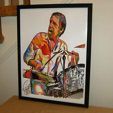 Buddy Rich Drummer Drums Swing Jazz Big Band Music Poster Print Wall Art 18x24