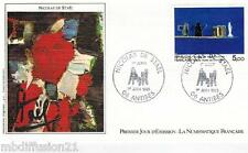 1985 - ENVELOPPE**FDC 1°JOUR - PEINTURE NICOLAS DE STAEL - TIMBRE  Yt. 2364
